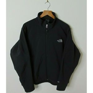 North Face XL Soft Shell Jacket Waterproof Black